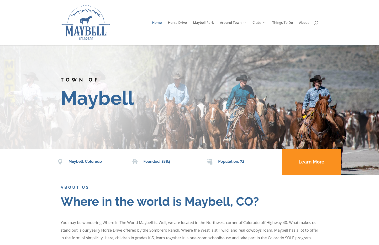 Town of Maybell